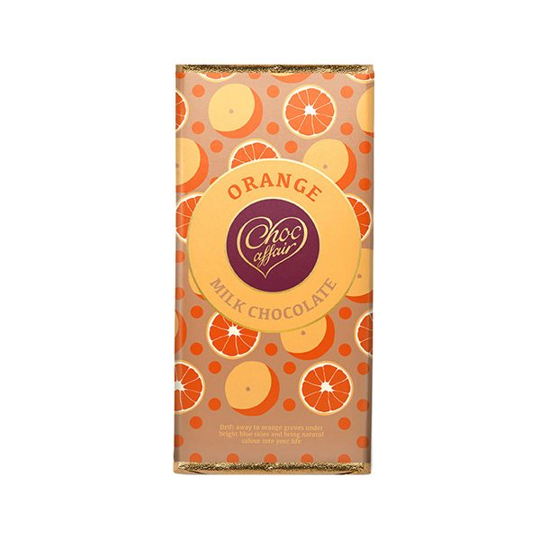 Orange Milk Chocolate Bar