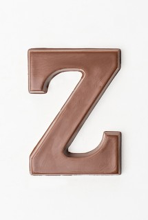 Chocolate letters - Z
