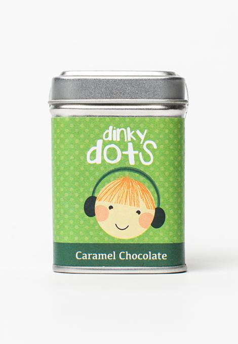 caramel chocolate buttons