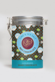 lime & seasalt hot chocolate