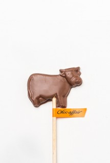 chocolate cow lolly