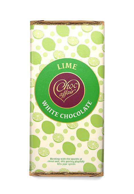 Lime chocolate