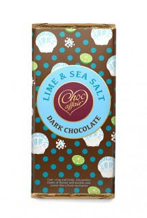 Lime and seasalt dark chocolate