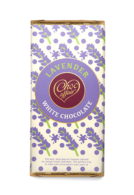 Lavender chocolate