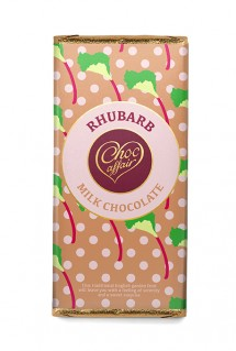 Rhubarb chocolate