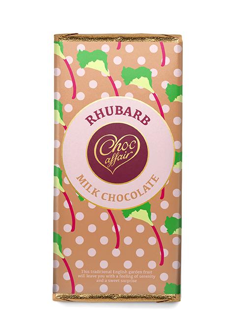 Rhubarb chocolate