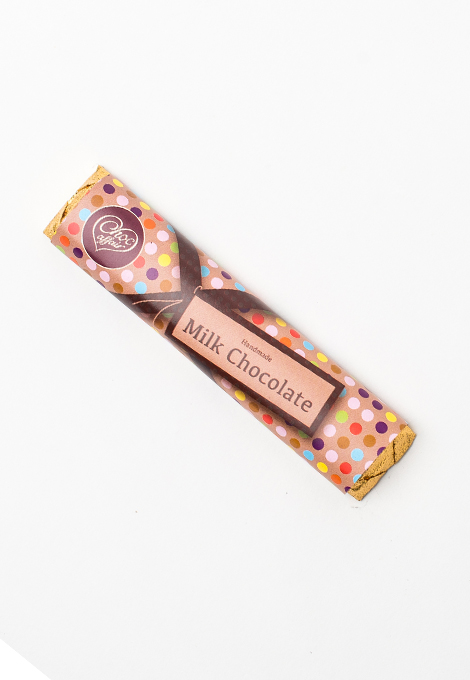 Delicious handmade milk chocolate bar made here in the UK.