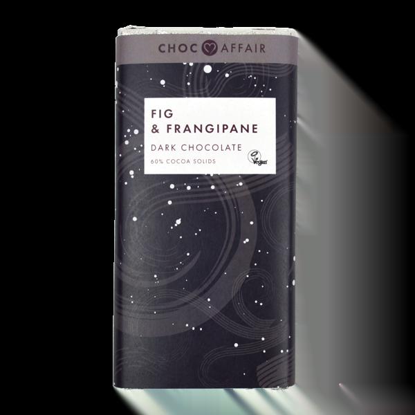 Fig and Frangipane Dark Chocolate Bar