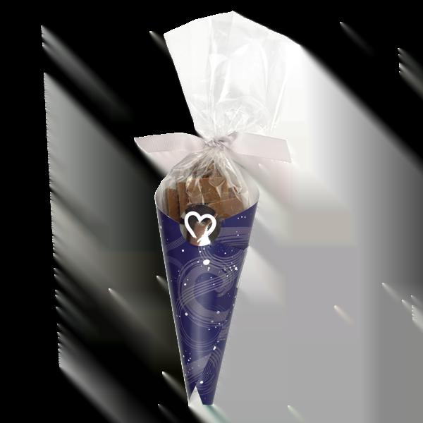 Salted Caramel Mini bar Cone