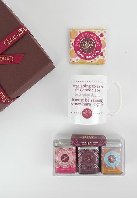 choc-affair-mug-design-1-with-one-shots-and-peach-raspberry-50g-bar
