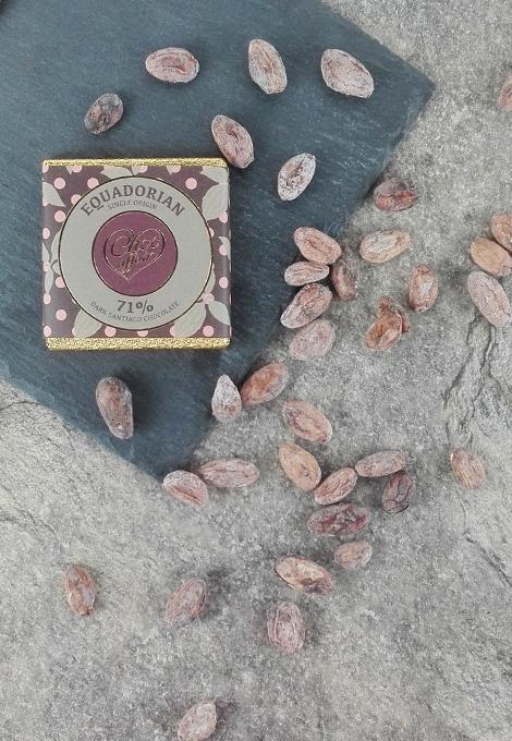 Single origin dark chocolate