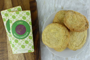 Choc affair recipe White Lime cookies