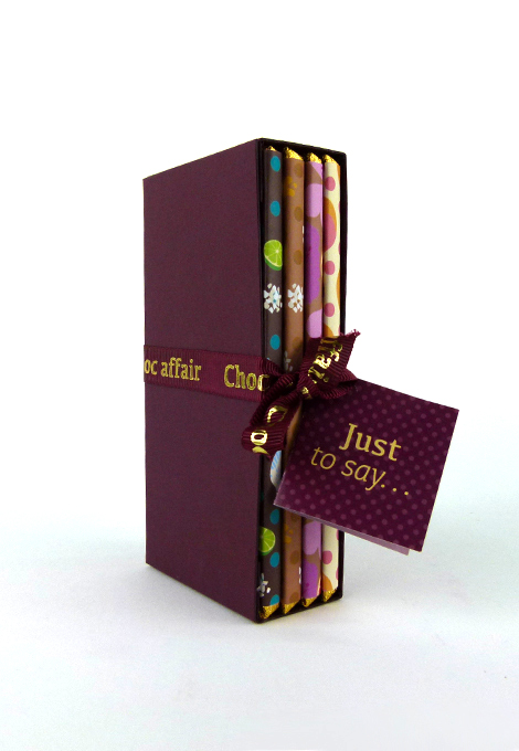 Library collection- choc affair