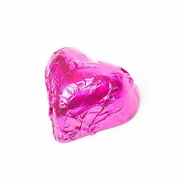 Choc Affair Chocolate Hearts Pink