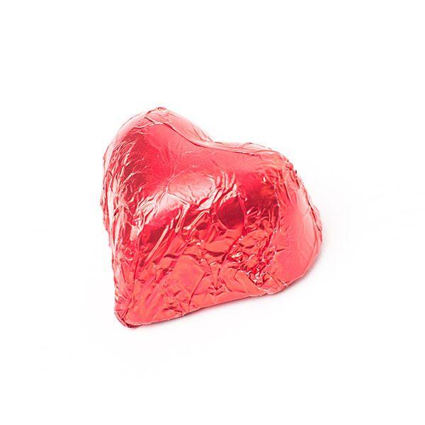 Choc Affair Chocolate Hearts Red