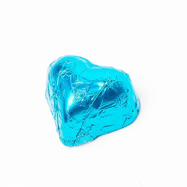 Choc Affair Chocolate Hearts Teal