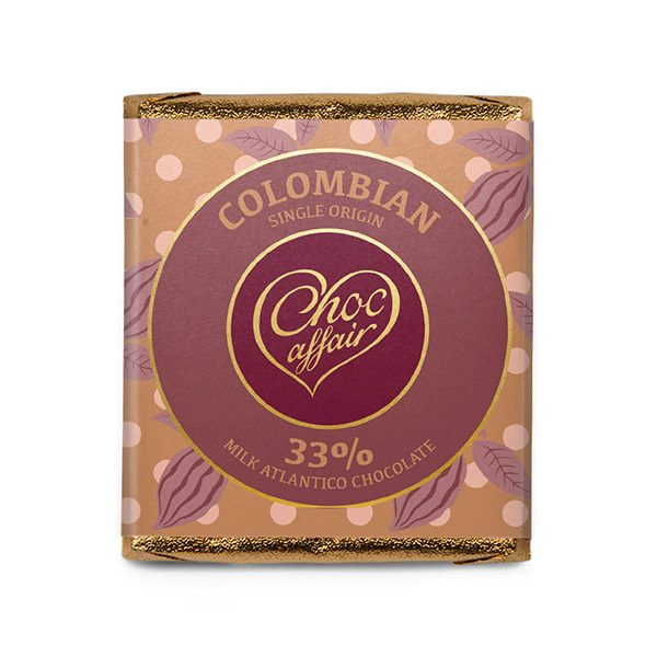 Choc Affair Colombian Single Origin Chocolate Bar