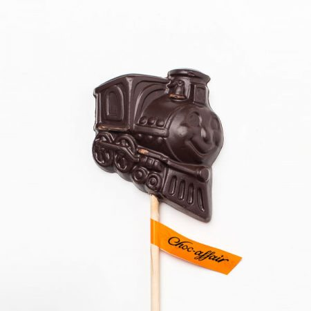 Dark Chocolate Train Lolly