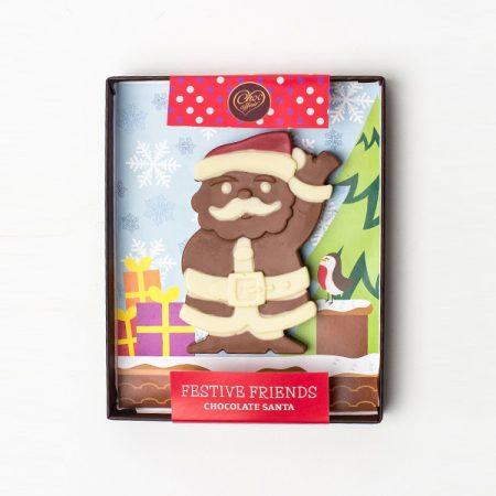Choc Affair Festive Chocolate Santa Large