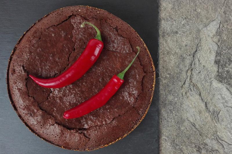 Dark Chili Chocolate Mousse