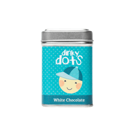 Choc Affair Chocolate Buttons Dinky Dots White