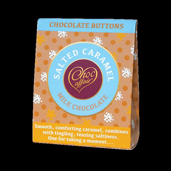 Choc Affair Chocolate Buttons Salted Caramel