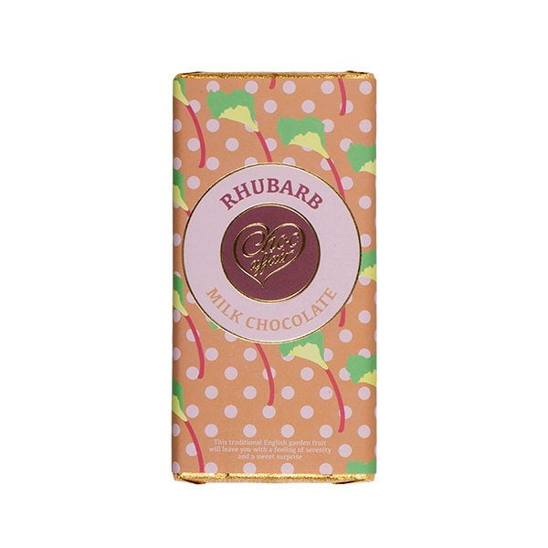 Rhubarb Milk Chocolate Bar