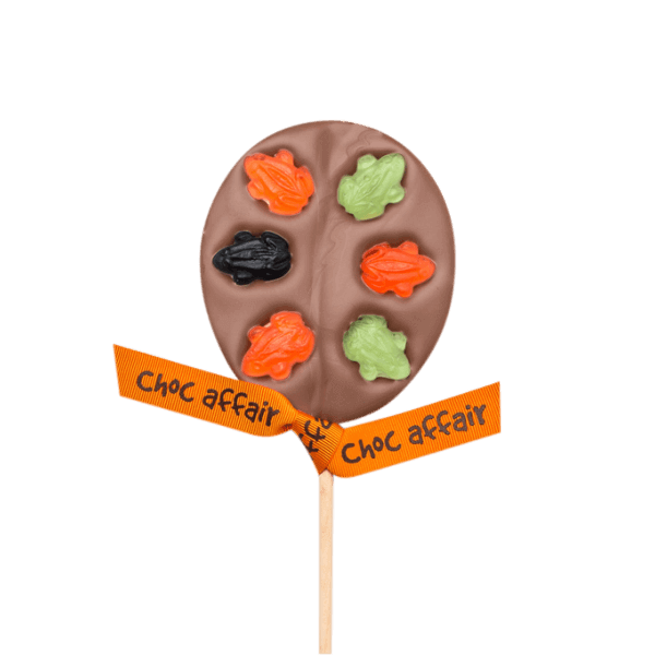 Milk Chocolate Fruity Frog Lolly