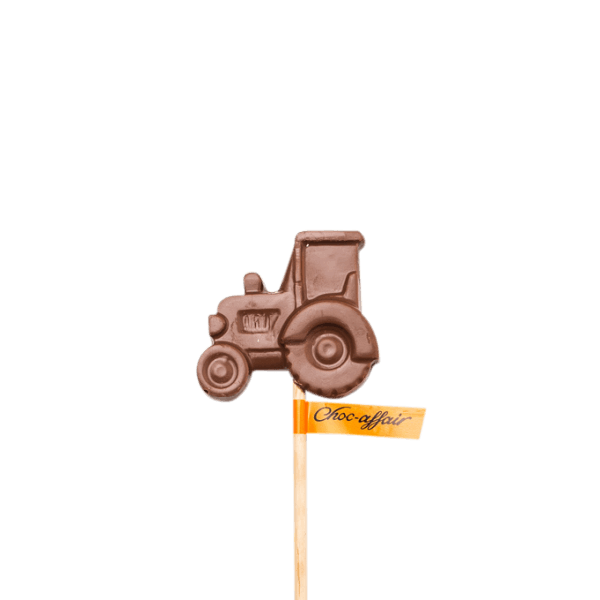 Milk Chocolate Tractor Lolly