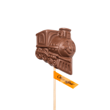 Milk Chocolate Train Lolly