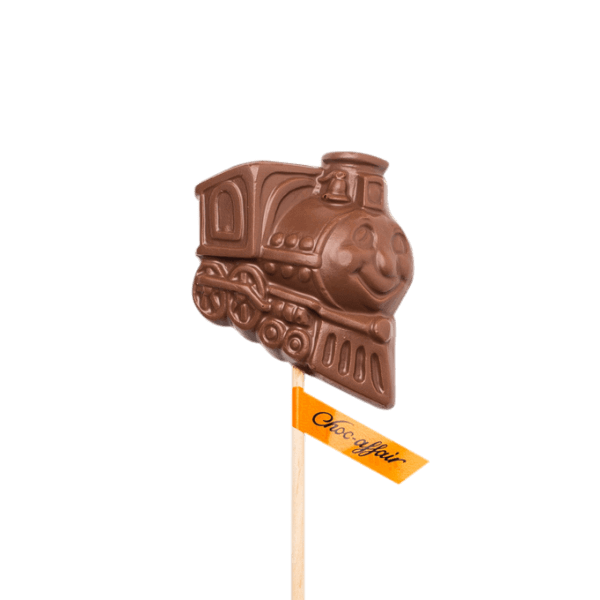 Milk Chocolate Train Lolly