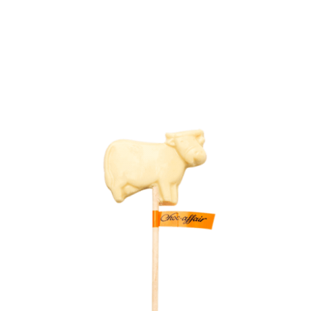 White Chocolate Cow Lolly