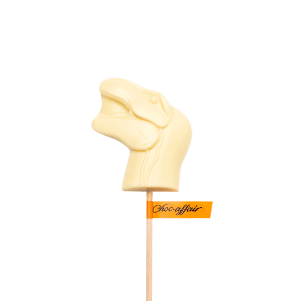 White Chocolate Dinosaur T-Rex Lolly