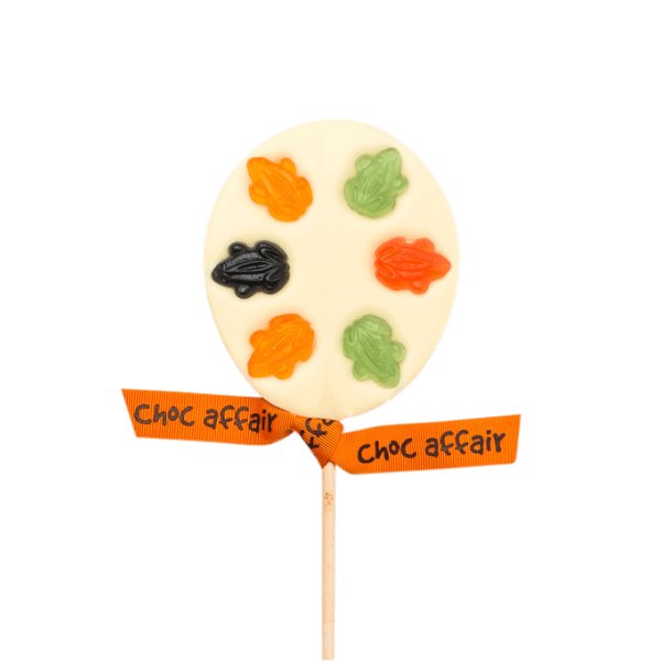 White Chocolate Fruity Frog Lolly