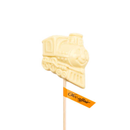 White Chocolate Train Lolly
