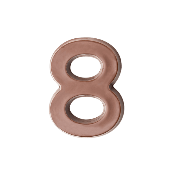 Milk Chocolate Number 8