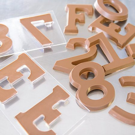 Alphabet Chocolate Letters