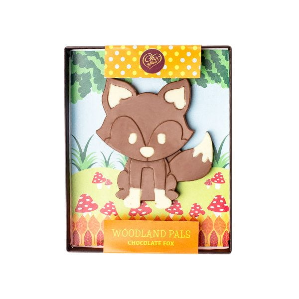 Choc Affair Chocolate Fox