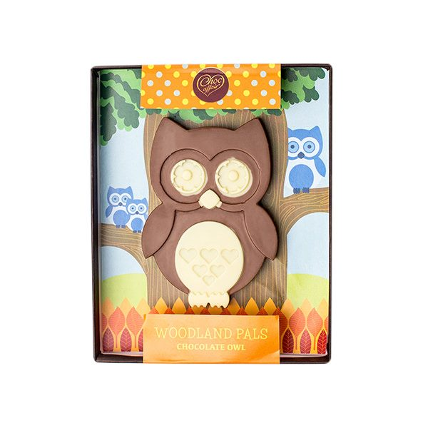 Choc Affair Chocolate Owl