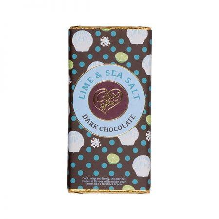 Lime & Sea Salt Dark Chocolate