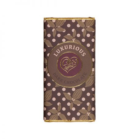 Luxurious Dark Chocolate Bar
