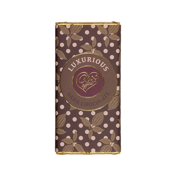 Luxurious Dark Chocolate Bar