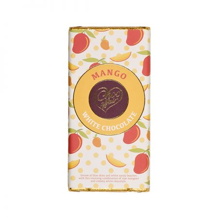 Mango Flavoured White Chocolate Bar