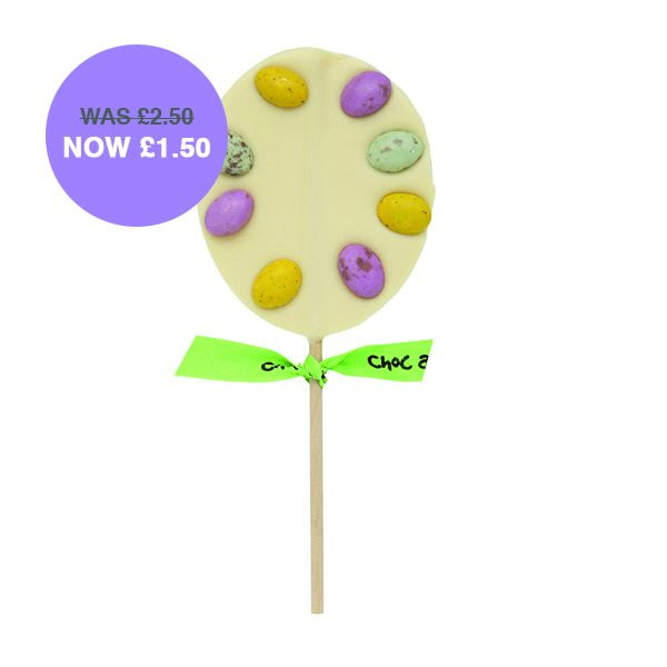 White Chocolate Mini Egg Lolly