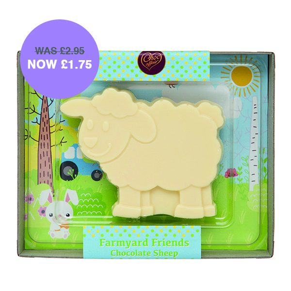 White Chocolate Sheep