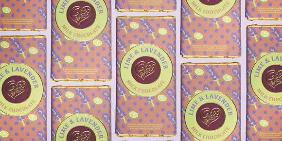 Lime & Lavender Milk Chocolate