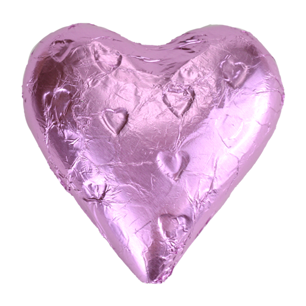 Light Pink Milk Chocolate Heart