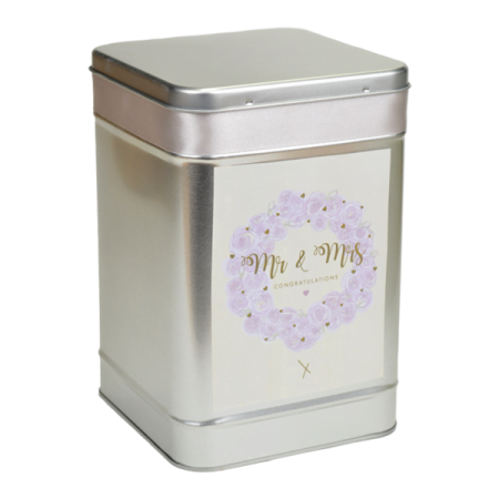 Personalised Luxury Wedding Favour Tin Bespoke Wedding Favours