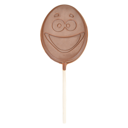 Milk Chocolate Egghead Lolly