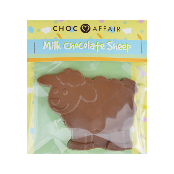 Milk chocolate sheep